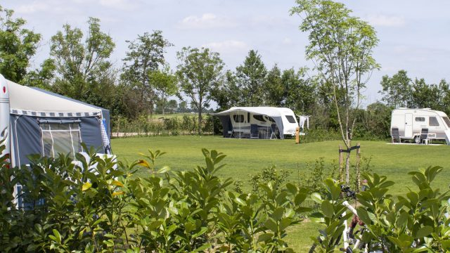 camping pitch comfort